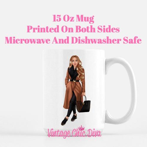 Fall Fashion Girl18 Coffee Mug-