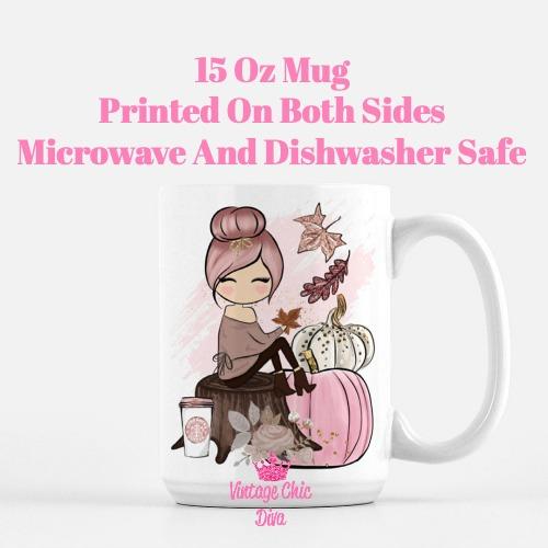 Fall Girl28 Coffee Mug-
