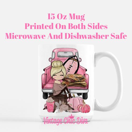Fall Girl50 Coffee Mug-