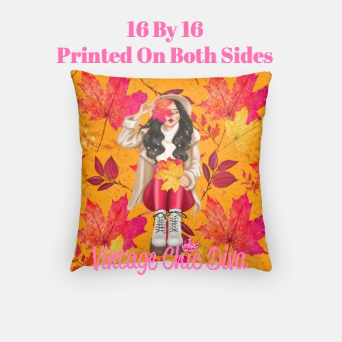 Fall Girly10 Pillow Case-