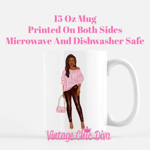 Fall Handbag Girl10 Coffee Mug-