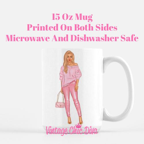 Fall Handbag Girl1 Coffee Mug-