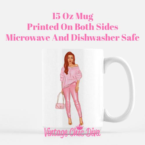 Fall Handbag Girl2 Coffee Mug-