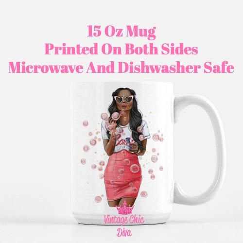 Fashion Bubble Girl3 Coffee Mug-