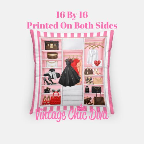 Fashion Closet10 Pillow Case-