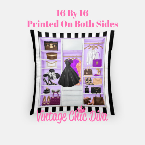 Fashion Closet11 Pillow Case-