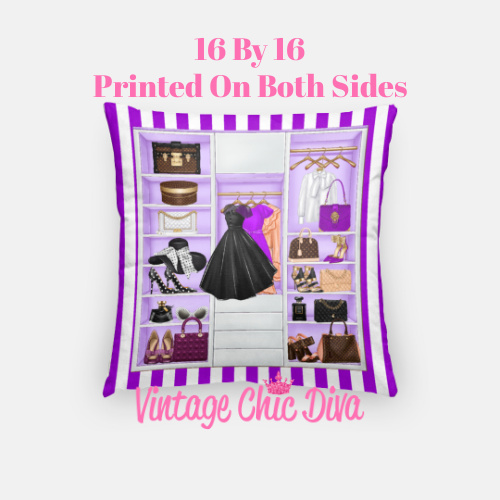 Fashion Closet13 Pillow Case-