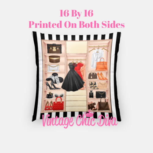 Fashion Closet4 Pillow Case-