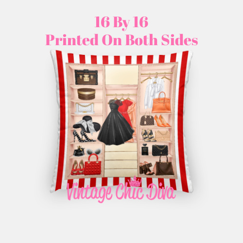 Fashion Closet6 Pillow Case-
