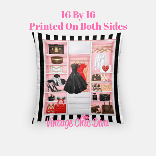 Fashion Closet7 Pillow Case-
