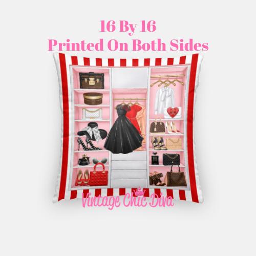 Fashion Closet9 Pillow Case-