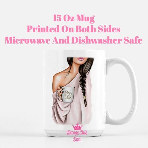 Fashion Coffee Girl11 Coffee Mug-