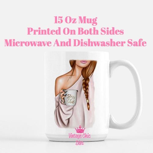 Fashion Coffee Girl14 Coffee Mug-