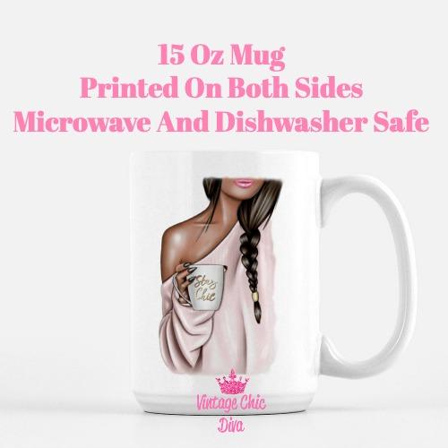 Fashion Coffee Girl15 Coffee Mug-