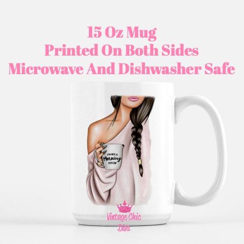 Fashion Coffee Girl16 Coffee Mug-