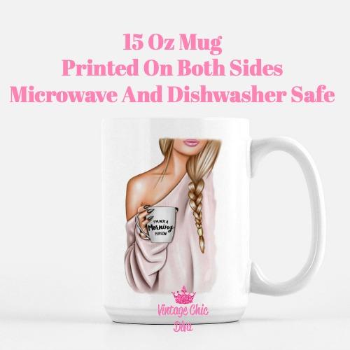 Fashion Coffee Girl17 Coffee Mug-