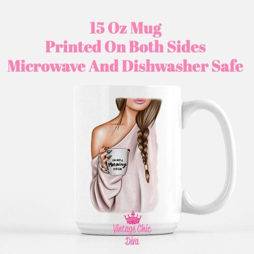 Fashion Coffee Girl18 Coffee Mug-