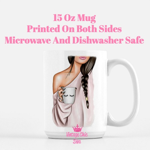 Fashion Coffee Girl1 Coffee Mug-