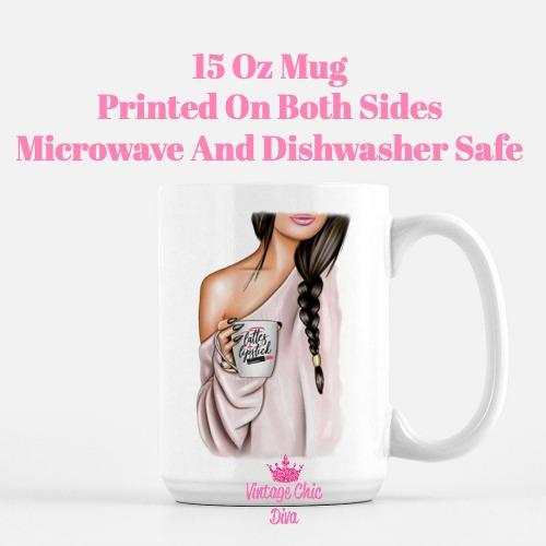 Fashion Coffee Girl21 Coffee Mug-