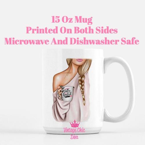 Fashion Coffee Girl22 Coffee Mug-