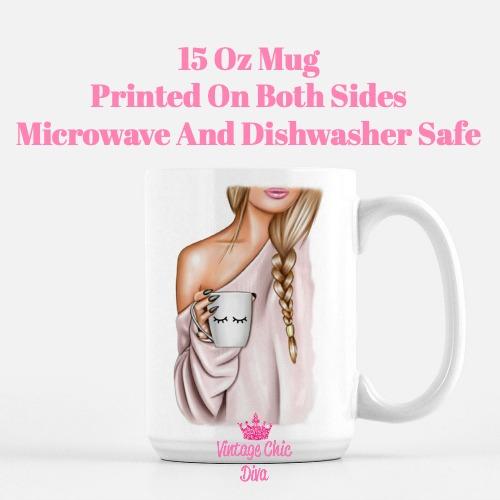 Fashion Coffee Girl2 Coffee Mug-