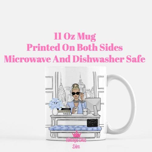 Fashion Girl Boss11 Coffee Mug-