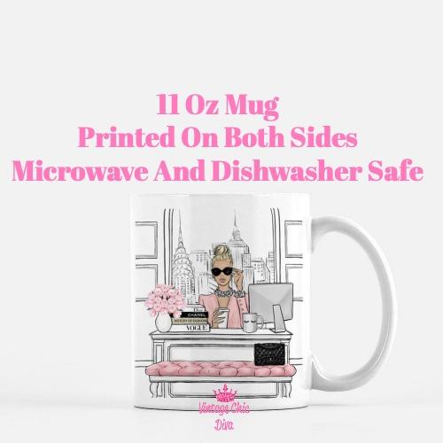 Fashion Girl Boss1 Coffee Mug-