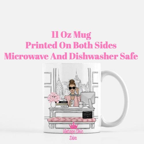 Fashion Girl Boss3 Coffee Mug-