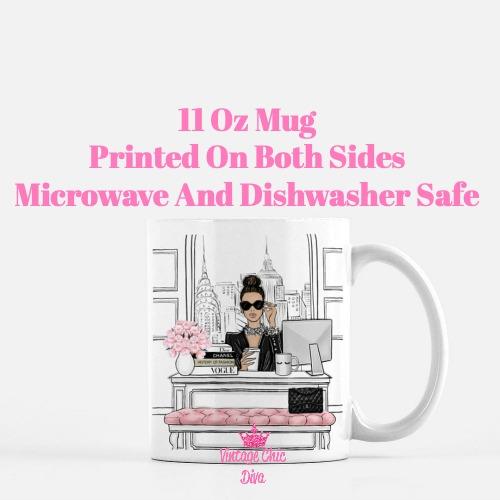 Fashion Girl Boss6 Coffee Mug-