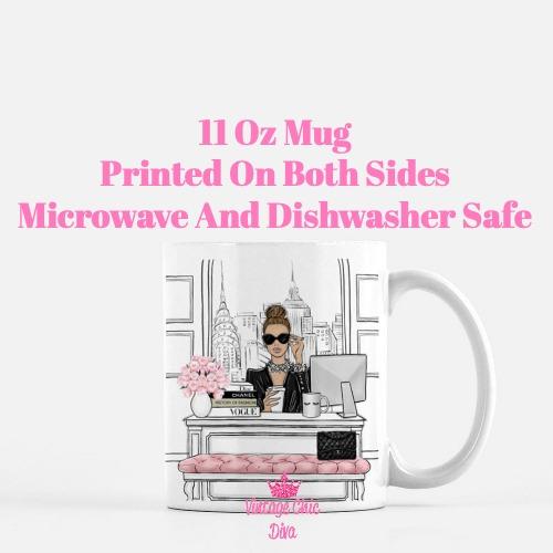 Fashion Girl Boss8 Coffee Mug-