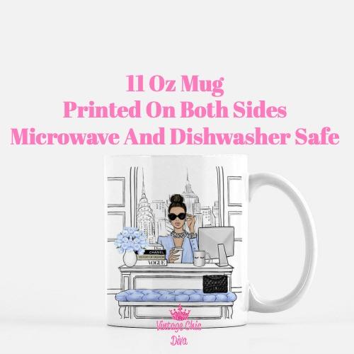 Fashion Girl Boss9 Coffee Mug-
