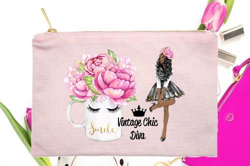 Fashion Girl Smile2 Pink-