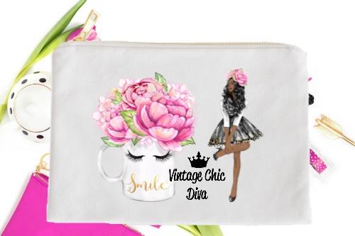 Fashion Girl Smile2 White-