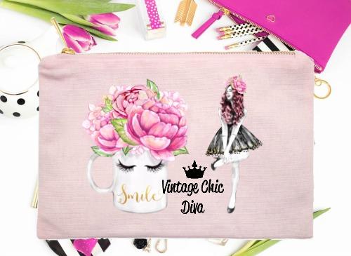Fashion Girl Smile3 Pink-