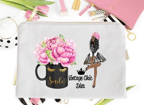 Fashion Girl Smile5 White-
