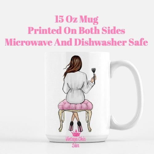 Fashion Girl Vanity10 Coffee Mug-