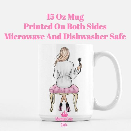 Fashion Girl Vanity11 Coffee Mug-