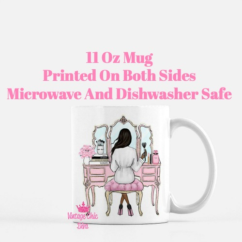 Fashion Girl Vanity4 Coffee Mug-