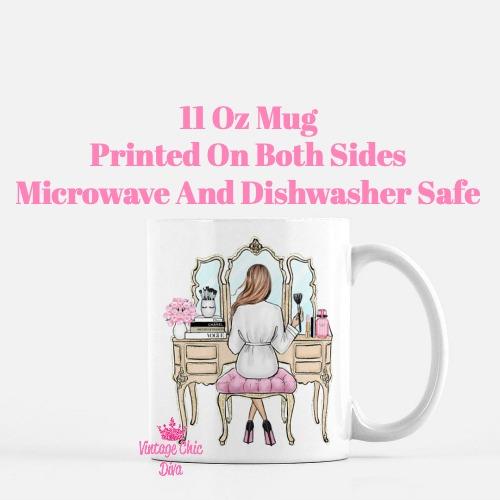 Fashion Girl Vanity5 Coffee Mug-