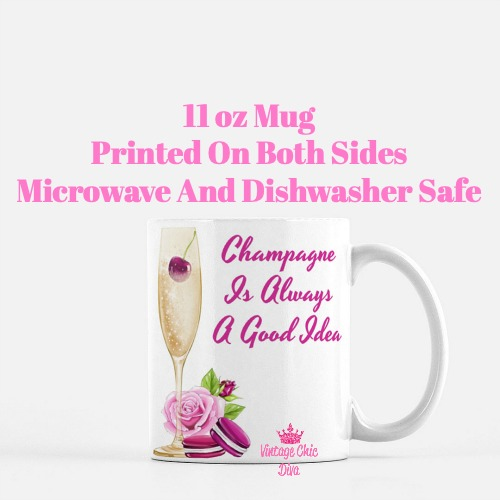 French Champagne Set Coffee Mug-