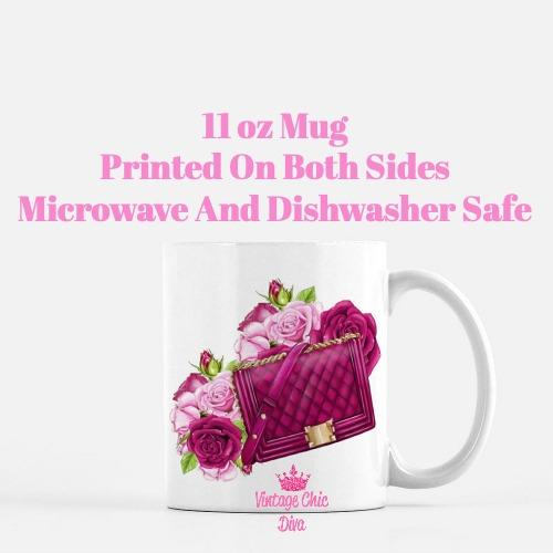 French Fashion Girl Set4 Coffee Mug-