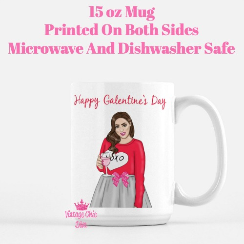 Galentine Girl11 Coffee Mug-