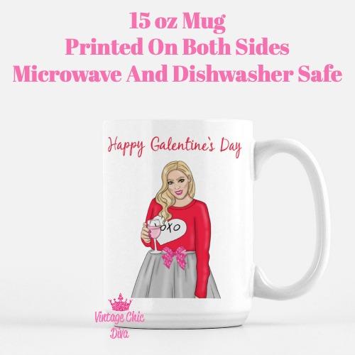 Galentine Girl13 Coffee Mug-