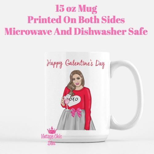 Galentine Girl14 Coffee Mug-