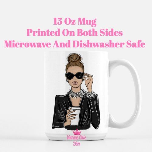 Girl Boss Fashion Girl10 Coffee Mug-
