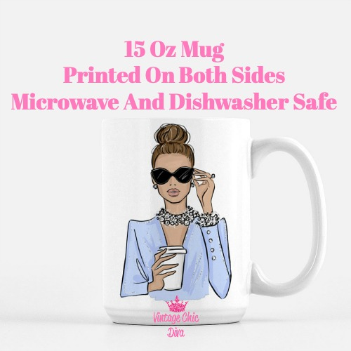 Girl Boss Fashion Girl11 Coffee Mug-