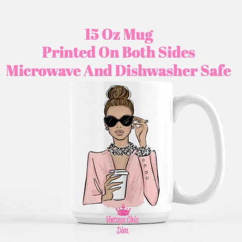 Girl Boss Fashion Girl12 Coffee Mug-