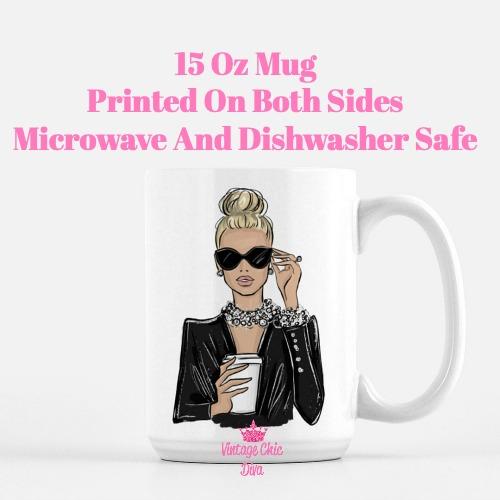 Girl Boss Fashion Girl1 Coffee Mug-
