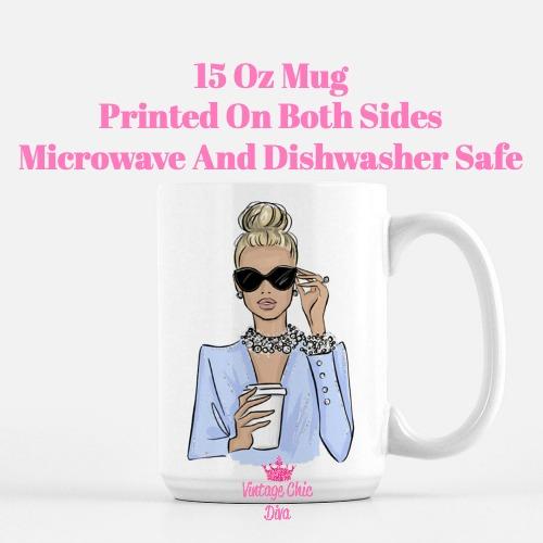 Girl Boss Fashion Girl2 Coffee Mug-