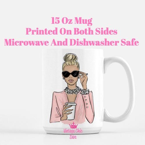 Girl Boss Fashion Girl3 Coffee Mug-